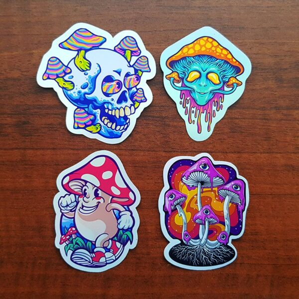 Stickers de hongos